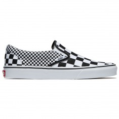 Vans Classic Slip-On Shoes - Black/True White