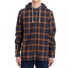 Vans Lopes Shirt - Dress Blues/Toffee