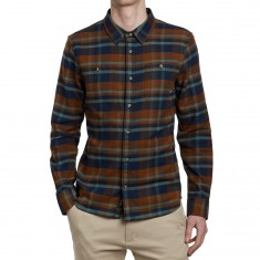 Vans Banfield II Shirt - Dress Blues/Toffee