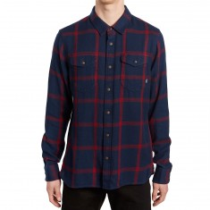 Vans Wayland II Shirt - Dress Blues/Racing Red