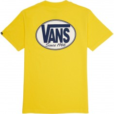 Vans Oval All T-Shirt - Yellow