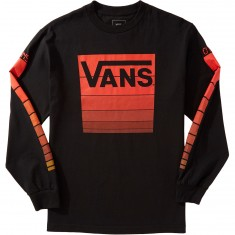 Vans X CCS Levels Long Sleeve T-Shirt - Black