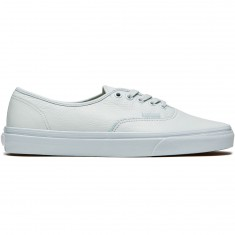Vans Original Authentic Shoes - Leather Mono/Ice Flow
