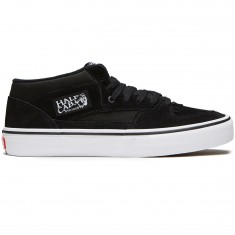 Vans Half Cab Pro Shoes - Black/Black/White