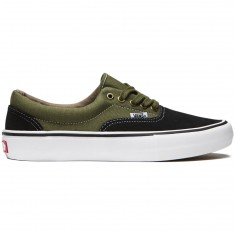 Vans Era Pro Shoes - Black/Moss