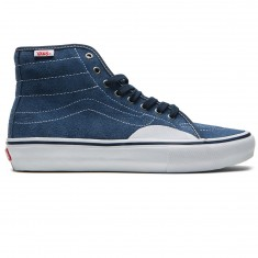 Vans AV Classic High Pro Shoes - Navy/White