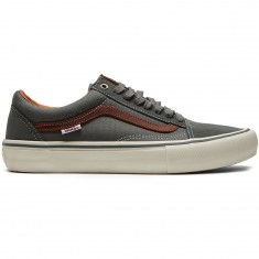 Vans Old Skool Pro Shoes - Gunmetal/Burnt Henna