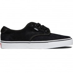 Vans Chima Ferguson Pro Shoes - Black/White Suede