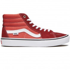 Vans Sk8-Hi Pro Shoes - Madder Brown/Cinnabar