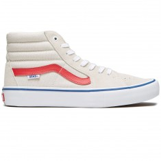 Vans Sk8-Hi Pro Shoes - Birch/Rococco Red