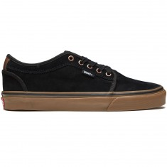 Vans Chukka Low Shoes - Black/Gum/Mustang