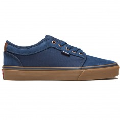 Vans Chukka Low Shoes - Rich Navy/Gum
