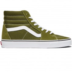 Vans Sk8-Hi Shoes - Winter Moss/True White