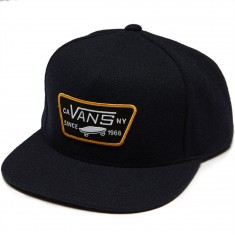 Vans Full Patch Snapback Hat - Dress Blues/Black