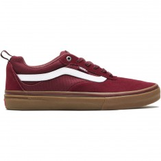 Vans Kyle Walker Pro Shoes - Burgundy/White/Gum