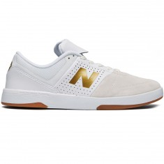 New Balance Numeric 533 V2 Shoes - White/Gold