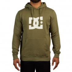 DC Star Hoodie - Vintage Green/Antique White