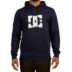 DC Star Hoodie - Dark Indigo/Antique White