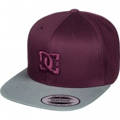 DC Snappy Hat - Port Royale/ Grey
