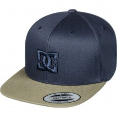 DC Snappy Hat - Dark Indigo/ Fatigue