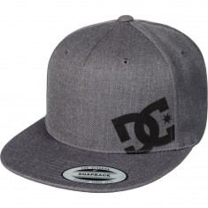 DC Heard Ya 2 Hat - Charcoal Heather