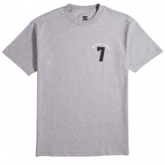 DC Lucky Seven T-Shirt - Grey Heather