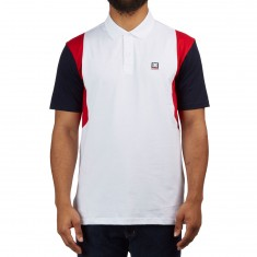 DC Fenton Polo Shirt - Snow White