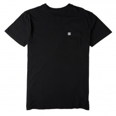 DC Dyed Pocket T-Shirt - Black