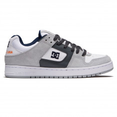 DC Manteca Shoes - Grey/White