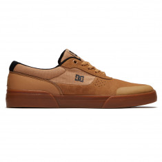 DC Switch Plus S Shoes - Brown/Gum