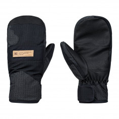 DC Franchise SE Mitten Snowboard Gloves - Black Reflective Camo