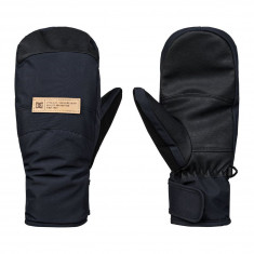 DC Womens Franchise Mitten Snowboard Gloves - Black