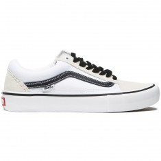 Vans Old Skool Pro Shoes - White/White/Black