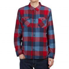 Vans Box Flannel Shirt - Chili Pepper/Copen Blue
