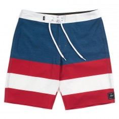 Vans Era Boardshorts - Dress Blues/Chili Pepper/Micro Stripe