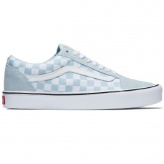 Vans Old Skool Lite Shoes - Baby Blue/True White