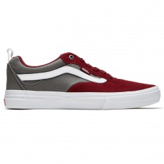 Vans Kyle Walker Pro Shoes - Cabernet/Pewter/White