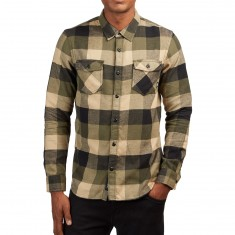 Vans Box Flannel Shirt - Grape Leaf/Khaki