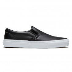 Vans Classic Slip-On Shoes - Tumble Black