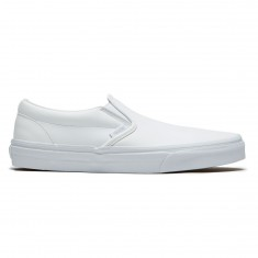 Vans Classic Slip-On Shoes - True White