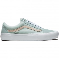 Vans Old Skool Pro Shoes - Danlu Harbor Grey/Pearl