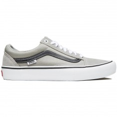 Vans Old Skool Pro Shoes - Drizzle/Black/White