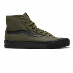Vans Black Ball Hi SF Shoes - Grape Leaf/Black
