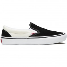 Vans Slip-On Pro Shoes - Black/White/White