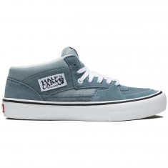 Vans Half Cab Pro Shoes - Goblin Blue/White
