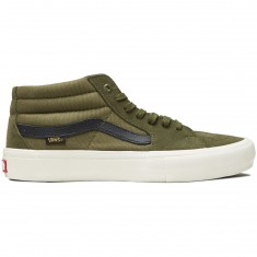 Vans Sk8-Mid Pro Shoes - Winter Moss