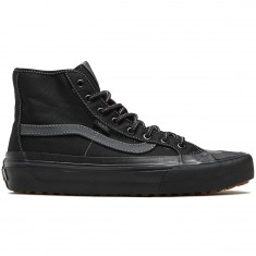 Vans Black Ball Hi SF Shoes - Black/Asphalt