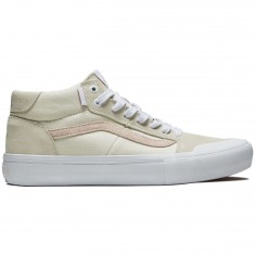 Vans Style 112 Mid Pro Shoes - Danlu Birch/Pearl