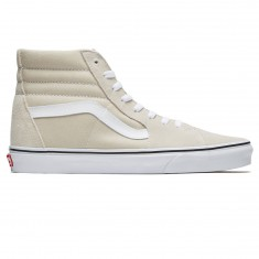 Vans Sk8-Hi Shoes - Silver Linning/True White