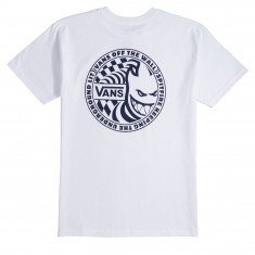 Vans X Spitfire II T-Shirt - White/Dress Blues